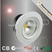 cob led ceiling light 9w fixture recessed led downlight SAA CE ROHS RCM