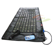 China 110*50cm thermal fir therapy electric jade massage mattress