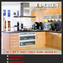 Wholesale cheap MFC / PVC kitchen cabinets