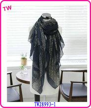 2014 fashion voile modern scarf shawl lady