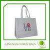 Various styles reusable waterproof grocery shopping bag
