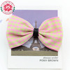 23Y Fashion handmade pet grooming tartan fabric bow tie for dog