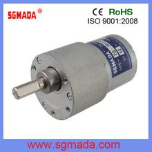 low rpm high torque dc gear motor