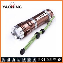 10 watt aluminum rechargeable UltraFire flashlight 26650 Li-ion battery zoom UltraFire flashlight torch