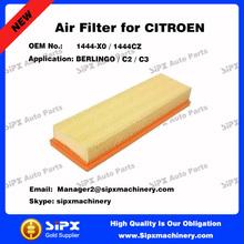 OEM 1444-X0 / 1444CZ Air Filter in Air Intake System For CITROEN BERLINGO / C2 / C3