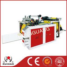PLC control heat-sealing &heat-cutting bag making machine