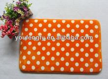 polyester anti-slip mat with dot design