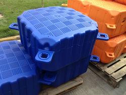 floating pontoon cube, plastic buoy, buoy and poontoon cube