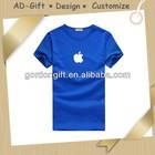 cheap price t shirt guangzhou with apple logo wholesale distributor