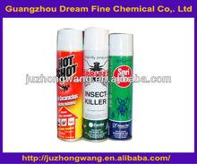 Los plaguicidas insecticidas en aerosol/baygon insecticidas