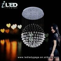D500*1100mm Modern LED 220v 110V high quality basketball hoop wives crystal chandelier earring