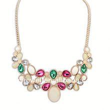 luxury flower tear drop easy match necklace fashion watch necklace