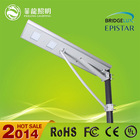 25w garden street light lamp / 12v solar led lights kit with solar panel ,battery,motion sensor, photocell