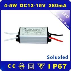 LED DRIVER waterproof 5W IP67