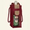 2015 single carrier jute wine 100 % recycle/ ecofriendly bag
