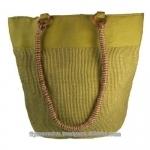 jute ladies handbag recycle - azo free