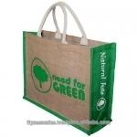 ecofriendly jute large tote bag