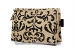 designer jute cosmetic gift ladies pouch
