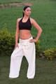Unisex thai pantolon organik, düzenli pamuk veya UV dayanıklı bambu