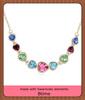 Austria Crystal charm Necklace Jewelry made with swarovski elements