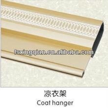 aluminum coat hanger,aluminum closets pipe,aluminum for curtain