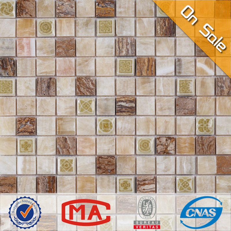 Hf jy mx sc02 nuevo dise o cuadrado de piedra natural look - Azulejos para exteriores ...