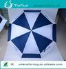 double canopy windproof golf umbrella black white umbrellas