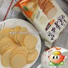 Baked potato chips savory
