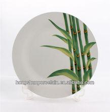 """10.5"""" bambù piatto e piatto"""