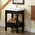 moderno 18mm sólido de madera de roble americano de madera rta gabinete de cuarto de baño