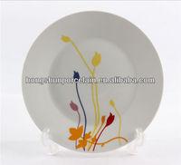 "10.5"" porcelain oven plate bake plate dish"