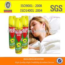 Mosquito repellent spray/insecticide aerosol spray