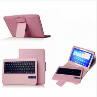 Removable Bluetooth Keyboard with Leather Case for samsung Galaxy Tab 3 10.1 P5200
