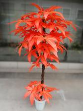 1.5myongyueเทียมสีแดงเมเปิ้ลต้นไม้