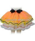 2014 china machine made beautiful design layered children tulle tutu petticoat dress, modern and fashion kids petticoat skirt