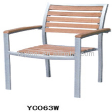 Willow Wood / Aluminium Outdoor Dining Chair