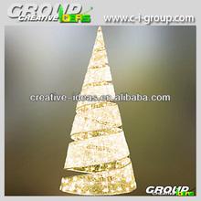 4M LED Christmas Acrylic Cone Tree Spiral Shape Christmas Tree