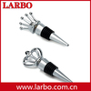 King and queen wine stoppers from china factory