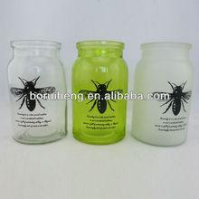 empty glass jars,glass herb storage jars,High Quality Glass Storage Jar