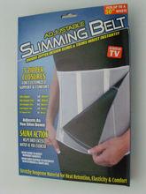 M269 Private label design zipper slimming sauna massage 2 in1 fitness belt