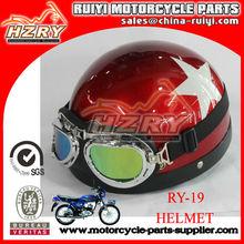 Moda fibra de carbono capacete de segurança para a venda por atacado capacete da motocicleta