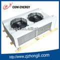 de doble cara de aire soplado tipos de evaporadores para cámaras frigoríficas con el mejor efecto de enfriamiento