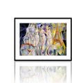 la ville de paris ünlü sanatçı tuval resmi