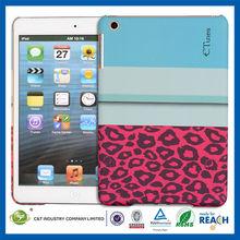 C&T Popular tablet plastic pc cover for ipad mini hard case