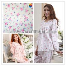 japanese printed cotton flannl fabric
