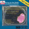 2014 mejor venta anti- las arrugas de cristal colágeno máscara de la cara al por mayor