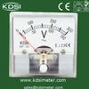45*45 analog mini dc amp volt meter in voltage meter