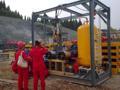 offshore en boca de pozo reactivo químico de inyección de skid