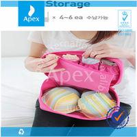 multi-functional canvas underwear bra wash travel bags