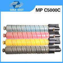 Color MP C5000C K/M/Y/C toner use for Ricoh copiers A ficio C4000/C5000